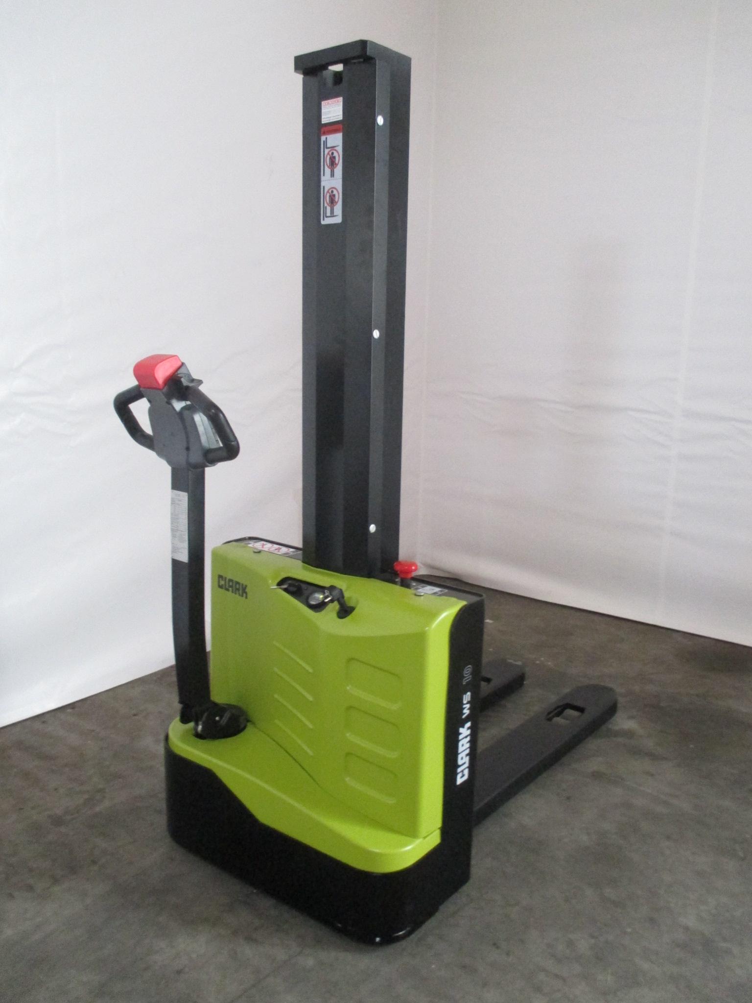 clark ws 10 m elektro hochhubwagen stapler gebraucht. Black Bedroom Furniture Sets. Home Design Ideas